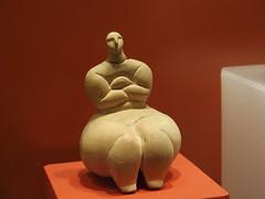Female figure II (rgrant_97) Tags: figurines statuettes neolithic ancient musem gozo malta ggigantija