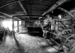 IMG_4698.JPG (Jamie Smed) Tags: iphoneedit handyphoto jamiesmed app snapseed september lens fisheye prime fixed wide angle focus 2014 hdr blackwhite bw blackandwhite rokinon manual canon eos dslr 500d t1i rebel photography warehouse geotag geotagged industrial
