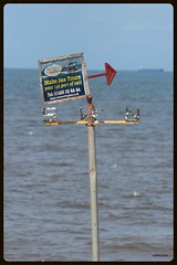 Searles Sea Tours (mickyman13) Tags: canon cannoneos60d eos eos60d 60d 60deos hunstanton norfolk sunnyhunny searlesseatours searles sea tours sign signs rusty rustyandcrusty seaside coast washmonster