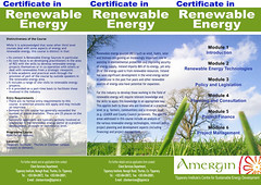 Amergin project - Flyer - Renewable Energy (front) (I-Man--10N) Tags: environment ireland celtic irish iconography tipperary