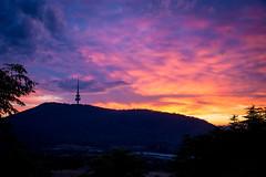 Rise&Shine (MattFinishPhotos) Tags: sky cloud sunrise canberra