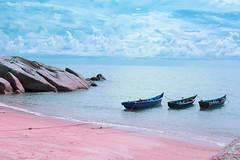 Quiet Life (yannis ye) Tags: island summer sun traveling trip travel photography photo indonesia blue beach bangka 2016 pink pinkbeach seascape