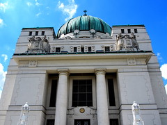 P5310263 (photos-by-sherm) Tags: vienna art church architecture modern austria memorial catholic charles secession karl nouveau borromeo lueger