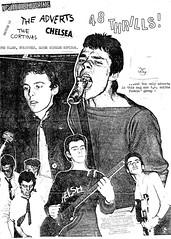 48 Thrills issue #3 (1977) (stillunusual) Tags: 48thrills fanzine punkfanzine punkzine punk punkrock newwave adrianthrills thecortinas cortinas thejam inthecity theadverts adverts thedamned damned chelsea 1970s 1977