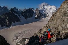 Rappel avec vue (Mat 65) Tags: ecrins 4000 alpes montagne mountain barre