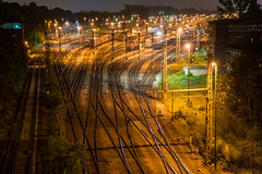 Have another dream (OR_U) Tags: longexposure nightphotography colour night train germany lights nightlights transport tracks rail railway trains railwaystation le oru braunschweig railtracks hss 2016 flashandthepan sliderssunday
