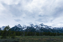 Grand Tetons (maggieball3) Tags: mountains nature clouds canon grandtetons
