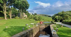 Lightbank Lock No. 31, Rochdale Canal. (shushphoto) Tags: water canals westyorkshire canallocks barges lansdcape calderdale walsden westyorkshirelandscape