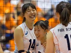 17251294 (roel.ubels) Tags: volleybal volleyball nederland oranje holland zuidkorea southkorea rotterdam topsportcentrum sport topsport 2016