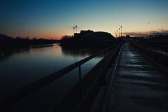 bridge (thephpjo) Tags: ifttt 500px water river sunset bridge walk ottawa canada reflection