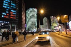 Mustang, Berlin, Potsdamer Platz (pixiepeeper) Tags: mustang berlin potsdamerplatz night germany festival lights