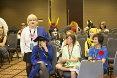 Anime Midwest 2016 Cosplay - Panels (RickDrew) Tags: anime midwest 2016 chicago il illinois rosemont panel event presentation fun animation group