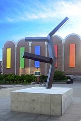 Untitled by Joel Shapiro (rachel.roze) Tags: hanover sculpture july2016 hoodmuseum dartmouth