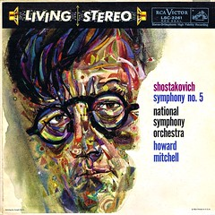 Shostakovich Symphony 5 - Mitchell RCA 1 (sacqueboutier) Tags: vintage vinyl vinylnation vinylcollection vinylcollector vinyllover lp lps lplover lpcollection lpcollector lpcover rca living stereo audiophile records record classical classicalmusic symphony