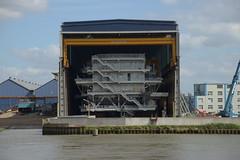 Veia Mate Offshore DST_7504 (larry_antwerp) Tags: fabricom engiefabricom cofelyfabricom veiamate offshore windfarm windpower schelde        belgium belgi          antwerp antwerpen