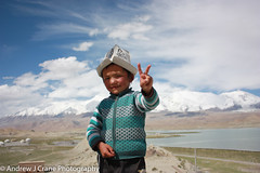 Tajik Child (Andrew J Crane Photography) Tags: china travel landscape photography andrew crane prc tajik minority child person portrait xinjiang karakoram highway snow glacier mountains