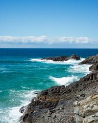 story book planet (nosha) Tags: australia beauty blue cqw green noosa ocean park qld queensland rock sea water