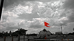 Bhagwa Dhwaj ( ) Tags:  outdoor sky cloud holyflag chivalry gallantry hinduism symbolisminhinduism bhagwazenda saffronflag flagofthemarathas marathas hinduculture wealth dharma reputation prosperity knowledge detachment hindu hinduwarriors marathaempire dharashiv tuljapur osmanabad tuljapurosmanabad osmanabaddiaries akshaypawarsphotography hindutradition hindudevotion hindustanpics photographersofindia maharashtra india indian capturedindia storiesofindia maharashtradesha indianphotography indiaclicks coloursplash bw blackandwhite