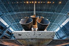 Under the Space Shuttle Discovery (Geoff Livingston) Tags: space shuttle discovery unitedstates nasa smithsonian udvar hazy rocket ship plane history