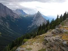 Mt Hood Summit Scramble - The light on Mt Wintour (benlarhome) Tags: kananaskis alberta canada mounthood mthood scramble scrambling hike hiking path trail route rockies rockymountain mountain gipfel peak summit
