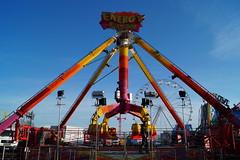 DSC02239 (A Parton Photography) Tags: fairground rides spinning longexposure miltonkeynes fireworks bonfire november cold