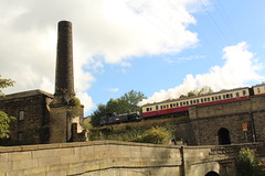 Coal Tank on the Shuttle (JamesHorrellPhotography) Tags: steam trains kwvr haworth keighley 43924 90733 5820 7822 railway