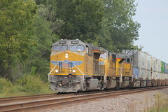 54359 (richiekennedy56) Tags: unionpacific et44ac sd70m sd70ace up2642 up4163 up8874 kansas newman perry jeffersoncountyks railphotos unitedstates usa