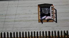 Pillows (Aga Dzicio) Tags: folk folkmuseum window wooden house wall white tradition okna okno biaystok muzeumwsi poland podlasie wie tradycja