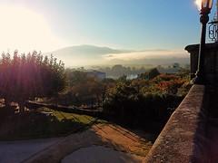 Niebla sobre el Mio (nora4santamaria) Tags: tuy galicia mio niebla 7dwf