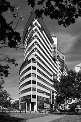 City Gate / Warsaw (Images George Rex) Tags: warsaw pl architecture offices citygate bw photobygeorgerex imagesgeorgerex poland warszawa monochrome blackandwhite