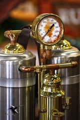 Steampunk - Aether Steam Gauge (thePhotographerRaVen) Tags: steampunk tucson oldtucson wwwc wwwc5 wildwest aether steam gauge brass gadget arizona photobyraven