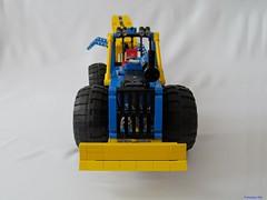 00e (nikolyakov) Tags: lego legotechnic eurobricks pneumatic logging skidder moc tc10