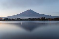 Fuji at Dawn (Tuck Happiness) Tags:  2016 japan mountfuji snow lake reflection dawn sunrise longexposure landscape mountain volcano
