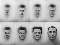 RINASCITA (Claudia Celli Simi) Tags: rinascita fotoritratto ritratto portrait bw bn biancoenero blackandwhite volto viso uomo man acqua liquido