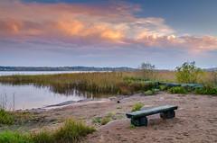 Time to Rest (Peter Vestin) Tags: nikond7000 sigma1750mmf28exdcoshsm siruin3204x siruik30x adobecreativecloudphotography topazlabscompletecollection fiskartorpet skattkrr karlstad vrmland sweden vnern nature landscape seascape sunset