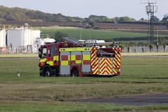 On standby. (aitch tee) Tags: cardiffairport firerescue emergencyservices emergencyvehicles emergencyresponse fireappliance firemenatwork cwlegff maesawyrcaerdydd walesuk
