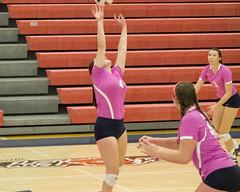 DJT_4959 (David J. Thomas) Tags: sports athletics volleyball women lyoncollege scots hendersonstateuniversity reddies batesville arkansas