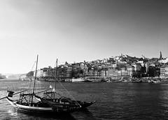 Porto (sladkij11) Tags: porto oporto portugal landscape panorama blackandwhite bw biancoenero fiume river olympus em10 douro