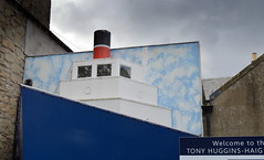 Tony Huggins-Haig Gallery (Tony Worrall) Tags: tonyhugginshaiggallery tony hugginshaig gallery kelso scotland scottish north country place visit area county attraction open stream tour scots borders uk tourist town ship hull model doorway art publicart