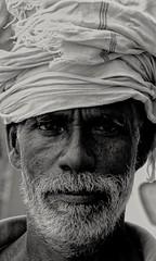 White beard (Rajavelu1) Tags: man blackandwhite labour streetphotography street portrait art artland canon60d turban face facedetails creative beard whitebeard