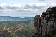 View in Montserrat (Lena and Igor) Tags: europe spain catalonia montserrat monastery mountains rocks cliffs vista scenic dslr nikon d810 nikkor 2470 telephoto zoom landscape