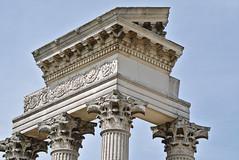 Temple ruin (diarnst) Tags: outdoor xanten ancient columns roman rmisch temple tempel sulen architektur apx