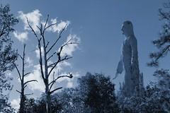 Mi Gigante favorito! (Honduras (504)) Tags: fotomaxhonduras imgenescatrachas paysage america americacentral honduras latinoamerica landscape nubes centroamerica azul tonoazul airelibre cristodelpicacho gigante estatuas wow