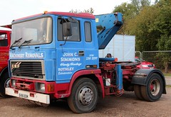 E496 EGM (Nivek.Old.Gold) Tags: 1987 erf e10 tractor unit 10000cc johncsimmons rothley machinery removals heavyhaulage cheffins