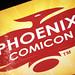 Phoenix Comicon sign