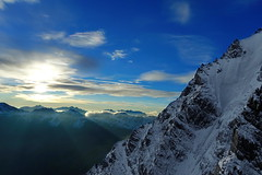 best day of your life - Alps Ortler sunrise (martin.bike) Tags: alps alpen summit gipfel berge sonnenaufgang sunrise blue sky italy italien