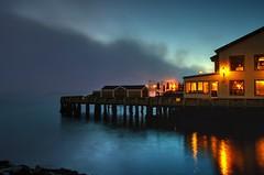 Waterfront Sunrise (corybeatty) Tags: halifax sunrise night sky light beauty waterfront nova scotia historic properties pier ocean atlantic landscape seascape beach water lights buildings