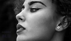 Micaela (BLUPhoto') Tags: 60d attractive canon eos exposure fashion female focal gallery girl glamur happy italia italy length lens light love luce manual moda model models nice portrait sigma sud woman style blackwhite black white lady bw bianco nero biancoenero napoli lucio blu e monocromo persone micaela pozzuoli club nettuno allaperto ritratto profondit blulucio clubnettuno