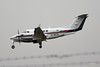 D-IBTA Beech 200 EGBE 1/12/14 (David K- IOM Pics) Tags: king d air super 200 coventry beechcraft beech kingair b200 cvt baginton egbe dibta