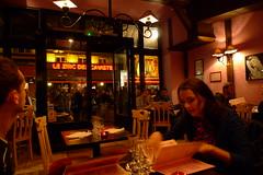 In Paris (Ken-Zan) Tags: paris girl menu evening pair par restaurang kenzan ljunghav